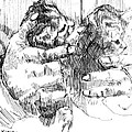 Cradling Kittens by Seth Weaver