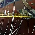 Crude Oil Tanker by David Parker