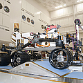 Curiosity Rover In The Testing Facility by Stocktrek Images