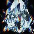 Cut And Polished Diamond by Pasieka