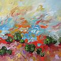 Dancing Sunrise by Linda Monfort