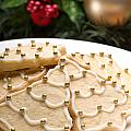 Decorated Cookies In Festive Setting by U Schade