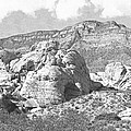 Desert Hikers by Frank Wilson