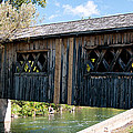 deShutes River Bridge by Guy Whiteley