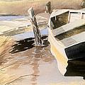 Docs Old Rowboat by Don F  Bradford