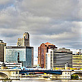 Downtown Toledo Riverfront by Jack Schultz