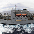 Dry Cargo And Ammunition Ship Usns by Stocktrek Images