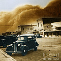 Dust Bowl Of The 1930s Elkhart Kansas by Science Source
