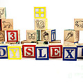 Dyslexia by Photo Researchers, Inc.
