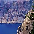 East Rim Of Crater Lake by Greg Nyquist
