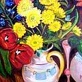Easter Flowers by Madeleine Prochazka