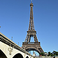Eiffel Tower In Paris by Martial Colomb