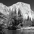 El Capitan And Merced River by Sandra Bronstein