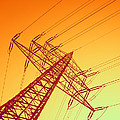 Electricity Power Lines by Pasieka