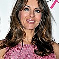 Elizabeth Hurley At A Public Appearance by Everett