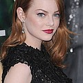 Emma Stone Wearing Fred Leighton by Everett