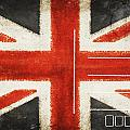 England Flag Postcard by Setsiri Silapasuwanchai