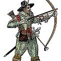 English Archer, 1634 by Granger