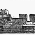 English Locomotive, 1825 by Granger