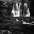 Ess-na-crub Waterfall On The Inver River In Glenariff Forest Park County Antrim Northern Ireland Uk by Joe Fox