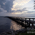 Evening On The Indian River Lagoon by Allan  Hughes