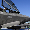 F-35b Lightning II Variants Are Secured by Stocktrek Images