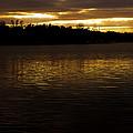 Fall Sunset by Edward Peterson