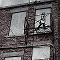 Fire Escape  by The Artist Project