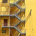 Fire Escape by Rudy Umans