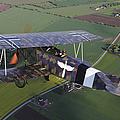 Fokker D.vii World War I Replica by Daniel Karlsson