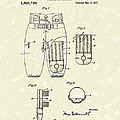 Football Pants 1917 Patent Art by Prior Art Design