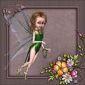 Forest Fairy In The Garden by John Junek