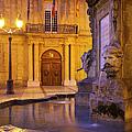 Fountain Aix-en-provence by Brian Jannsen