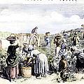 France: Grape Harvest, 1854 by Granger