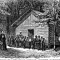 Freedmen School, 1868 by Granger