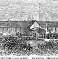 Freedmens School, 1868 by Granger