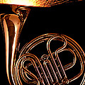French Horn With Sparks by Garry Gay