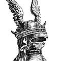 French Medieval Helmet by Granger