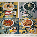Frozen Food Ad, 1957 by Granger