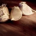 Garlic Cloves by Tom Mc Nemar