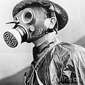 Gas Masks by Science Source