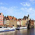 Gdansk Old Town In Poland by Artur Bogacki