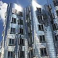 Gehry's Der Neue Zollhof Buildings by Pasieka