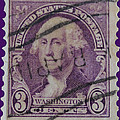 George Washington Postage Stamp by James Hill