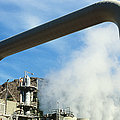 Geothermal Power Plant by Science Source