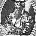 Gerardus Mercator, Flemish Cartographer by Science Source