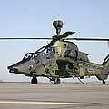 German Tiger Eurocopter At Fritzlar by Timm Ziegenthaler
