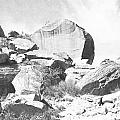 Giant Sandstone Boulders by Frank Wilson