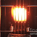 Glowing Filament 4 Of 4 by Ted Kinsman