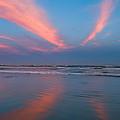Golden Morning At A Beach  by U Schade